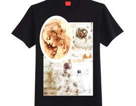 #5 for Set with 4 (four) T-Shirts design inspired by the Renaissance art works. by rocioquiles