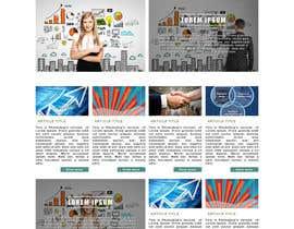 Andresblnk tarafından Design a Website Mockup için no 38