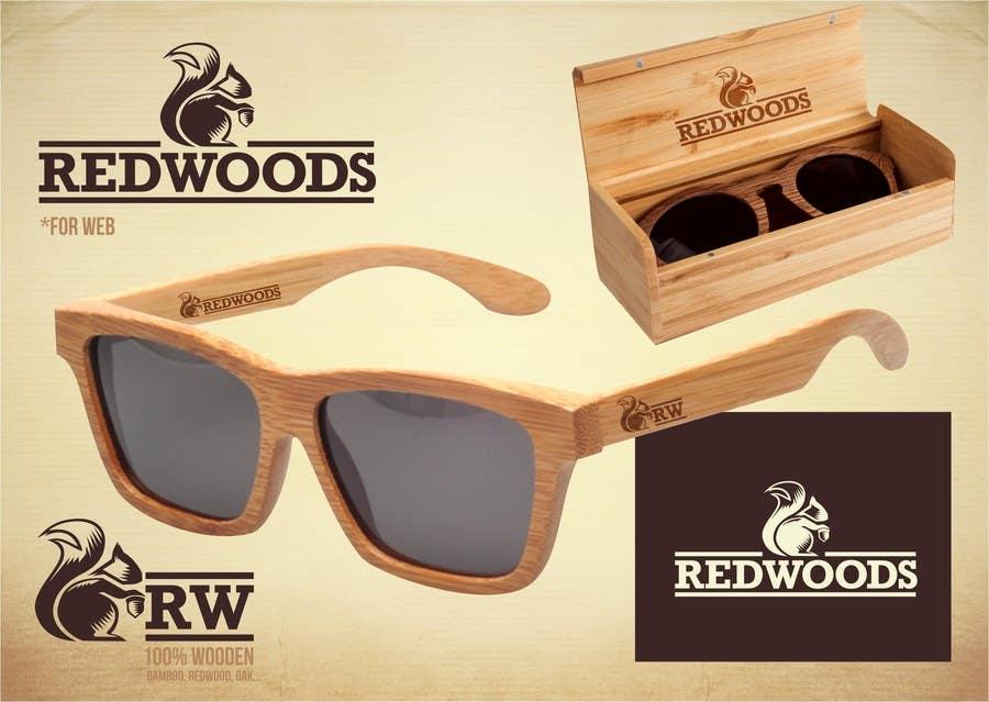 Kilpailutyö #210 kilpailussa Design a Logo for a Wooden Sunglasses company