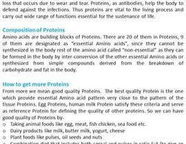 sharmamanju tarafından Article about ways to get more protein için no 8