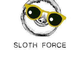 PandaLabo tarafından [Game Studio Logo] Sloth with aviator sunglasses with SLOTH FORCE written below için no 31