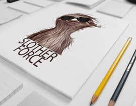 PandaLabo tarafından [Game Studio Logo] Sloth with aviator sunglasses with SLOTH FORCE written below için no 69
