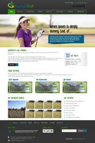 #7 for Design a Website Mockup for swingR golf by kreativeminds