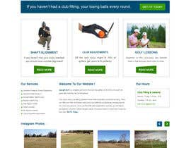 gravitygraphics7 tarafından Design a Website Mockup for swingR golf için no 4