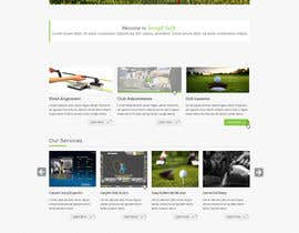 #3 for Design a Website Mockup for swingR golf by yuva33raaj