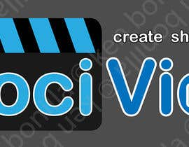 #28 for Design a Logo for SociVidz by kenbonilla