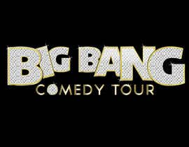 #101 para Logo Design for Big Bang Comedy Tour por upquark