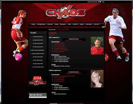 nº 2 pour Design a Webpage Mockup for 1 page of our Youth Soccer Website par jjmoskoe
