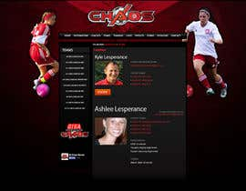 nº 3 pour Design a Webpage Mockup for 1 page of our Youth Soccer Website par ralphkriss831