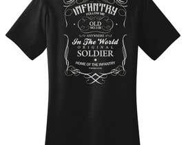 #10 untuk Design a T-Shirt for Military-theme oleh whyball