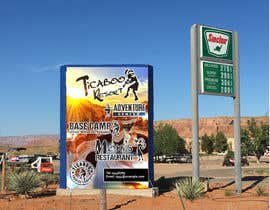 zepol999 tarafından We Need a New 12x18 ft banner sign for a desert resort.   HELP US! için no 13