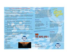#25 para Design a Brochure for our G2K Musicals por ducdungbui
