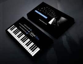 sanjoypl15 tarafından Design business card for a piano teacher için no 18