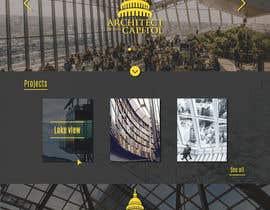 fouadkou tarafından architecture website mockup için no 7