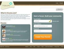 #3 för Website Design for Forums.com av Krishley