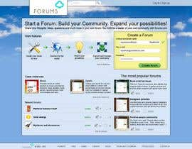 #21 för Website Design for Forums.com av Kashins