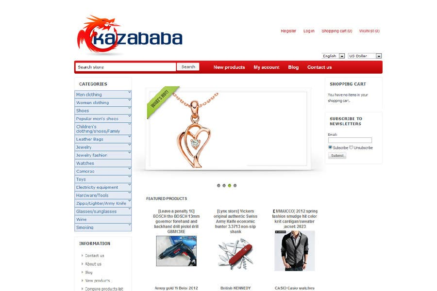 #175 for Logo Design for kazababa by ulogo
