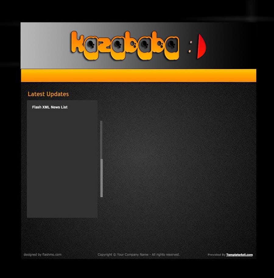 Proposition n°                                        55                                      du concours                                         Logo Design for kazababa