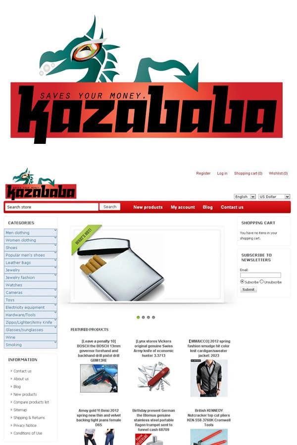 Konkurrenceindlæg #                                        172                                      for                                         Logo Design for kazababa