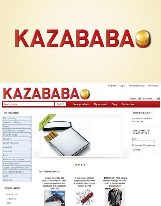 #45 for Logo Design for kazababa by MarinaRajic