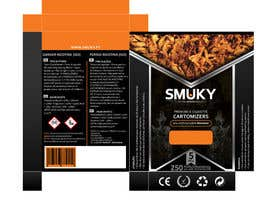 #8 for Packaging Design for SMUKY af techwise