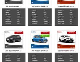omwebdeveloper tarafından Re-design 2 website landing pages (Netcars Search page) için no 27