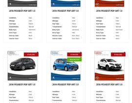 omwebdeveloper tarafından Re-design 2 website landing pages (Netcars Search page) için no 28