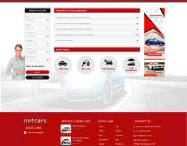 webidea12 tarafından Re-design 2 landing pages on a website (Netcars About & FAQ) için no 16