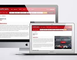 omwebdeveloper tarafından Re-design 2 landing pages on a website (Netcars About & FAQ) için no 47