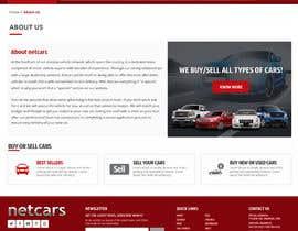 omwebdeveloper tarafından Re-design 2 landing pages on a website (Netcars About & FAQ) için no 55