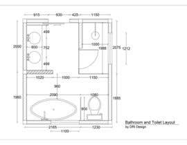 adrian911210 tarafından Design a bathroom layout için no 16