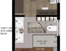 SuryaAlvin tarafından Design a bathroom layout için no 22