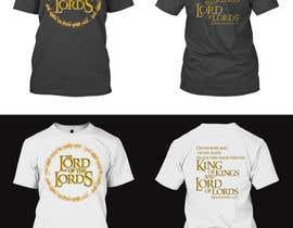 ArifBPS tarafından Design a T-Shirt - The Lord of the Ring Style için no 70