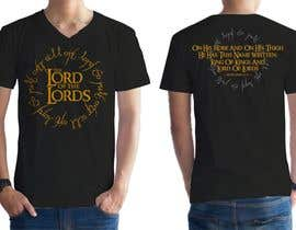 Kiddyz tarafından Design a T-Shirt - The Lord of the Ring Style için no 78