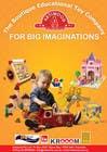 Graphic Design Inscrição do Concurso Nº74 para Advertisement Design for Artiwood Educational Toys (A4)