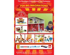 #2 para Advertisement Design for Artiwood Educational Toys (A4) por blacklist08