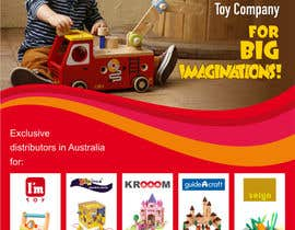 #44 para Advertisement Design for Artiwood Educational Toys (A4) por imaginativeGFX