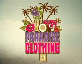 #90 para Design a Logo for Paradise Clothing Co por salutyte