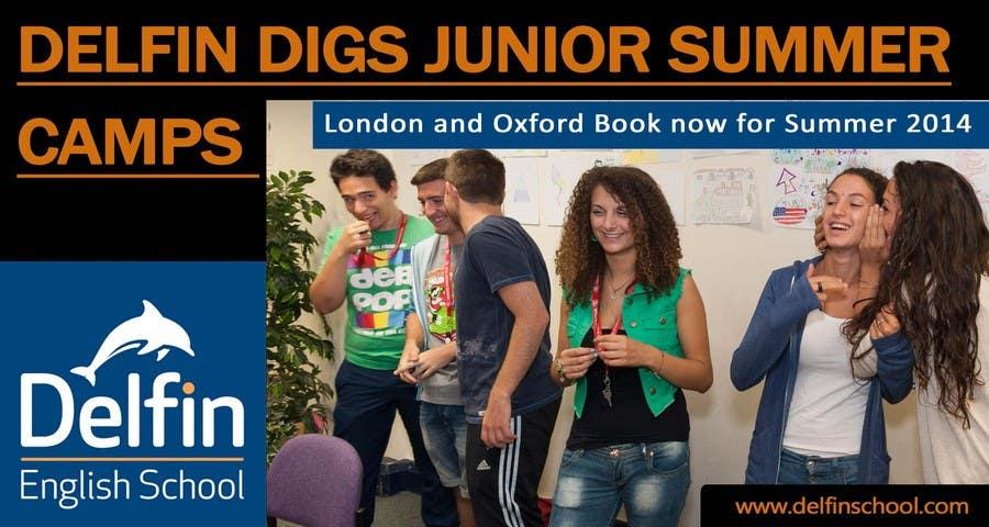 Inscrição nº 4 do Concurso para Design an email Banner to advertise a Junior Summer Centre