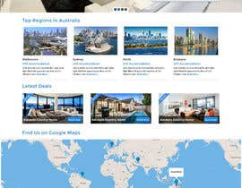 #19 for Design a Website Mockup for realestate website by creativitypalace