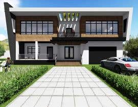 IsaacAbdalfatah tarafından Design concept to remodel exterior of residential house için no 8