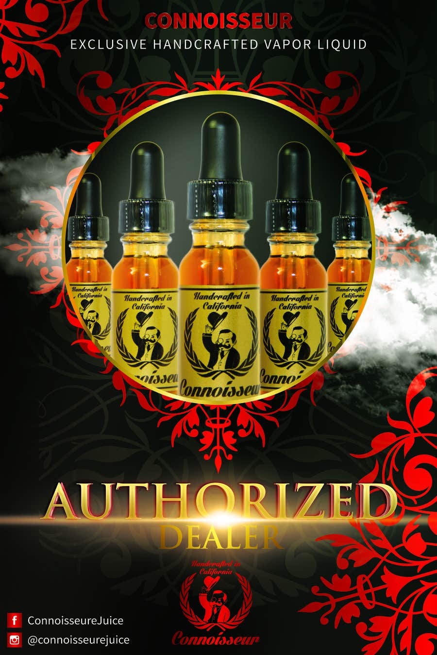 Bài tham dự cuộc thi #6 cho Poster Design for Connoisseur eJuice