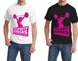 #18 untuk Design a T-Shirt for CrossFit Nurse oleh LorenzoSabia