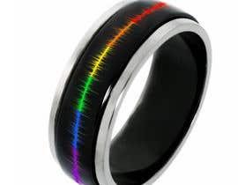 waqastariq01 tarafından Create a Rainbow EKG/wave Spinner Ring için no 34