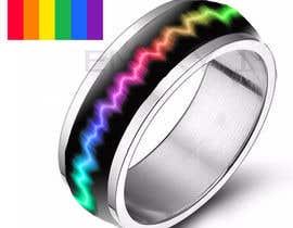 Prathusha21 tarafından Create a Rainbow EKG/wave Spinner Ring için no 10