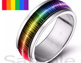 Prathusha21 tarafından Create a Rainbow EKG/wave Spinner Ring için no 24