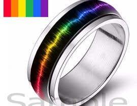 Prathusha21 tarafından Create a Rainbow EKG/wave Spinner Ring için no 25