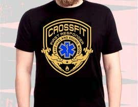 #12 cho Design a T-Shirt for CrossFit First Responder (EMT, Fire, Police) bởi lanangali