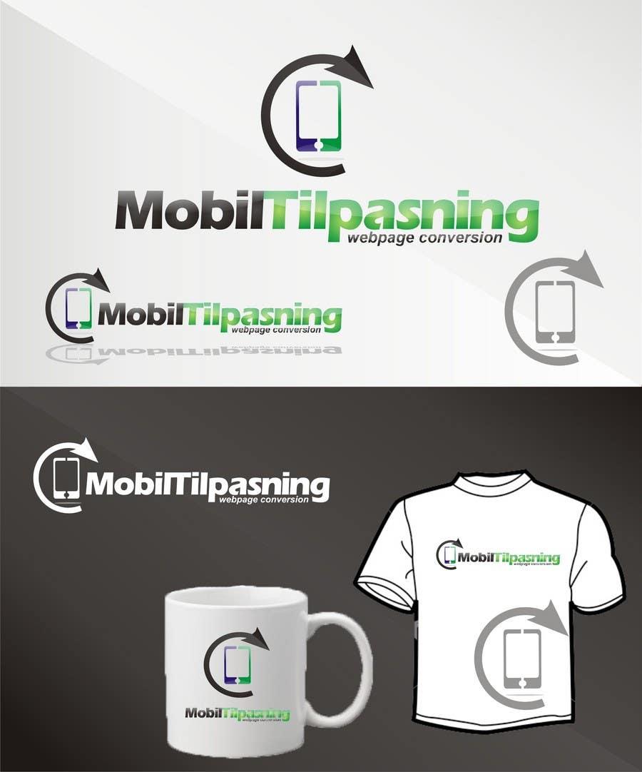 Kilpailutyö #299 kilpailussa Logo Design for www.MobilTilpasning.no