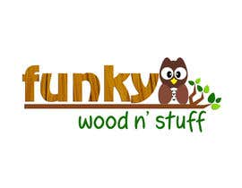 #11 for Design a Logo for Funky Wood 'n' Stuff by melaiocampo